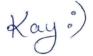Kay Gill Signature